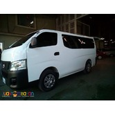 NISSAN URVAN RENT A CAR