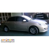 SEDAN TOYOTA ALTIS FOR RENT