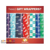CUSTOMIZED GIFT WRAPPERS / WRAPPING PAPER