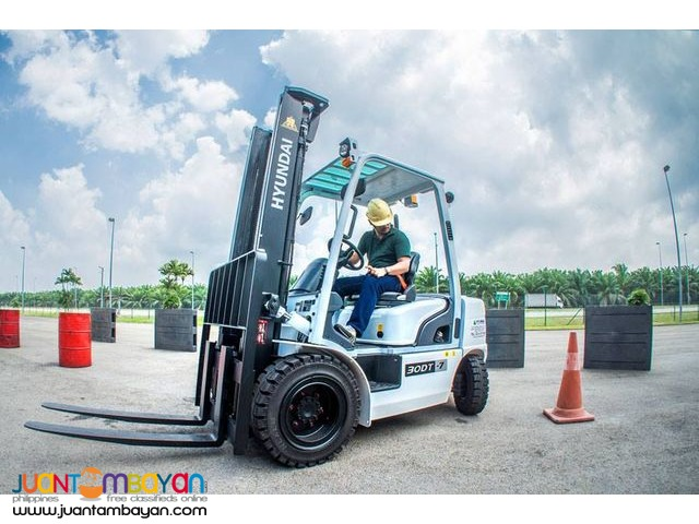 Forklift Rental in Cebu