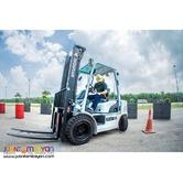 Forklift Rental in Cebu