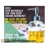 Raw Materials for your Soap Dishwashing Liquid Business
