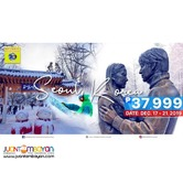 5D4N Korea Full Board Package Winter Experience + Visa + Airfare