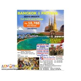 6D5N Bangkok and Pattaya Full Board Land Package