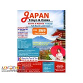 6D5N Japan Full Board Package