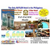 Overnight Stay in Pan Pacific Manila