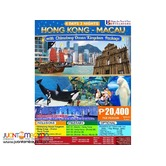 4D3N Hong Kong and Macau with Chimelong Ocean Kingdom