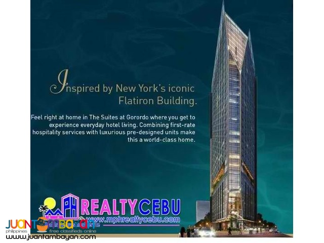1BR Suite at The Suites in Gorordo Cebu City | Pre-selling