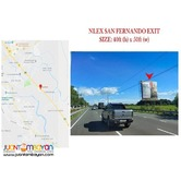 NLEX BILLBOARD SITE FOR RENT
