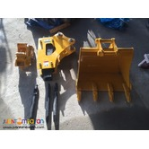 ( HQ Backhoe Loader )