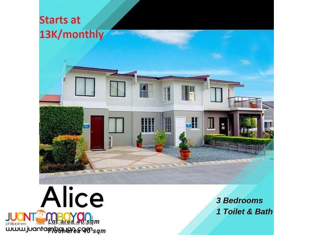 House and Lot (Lancaster New City Cavite)