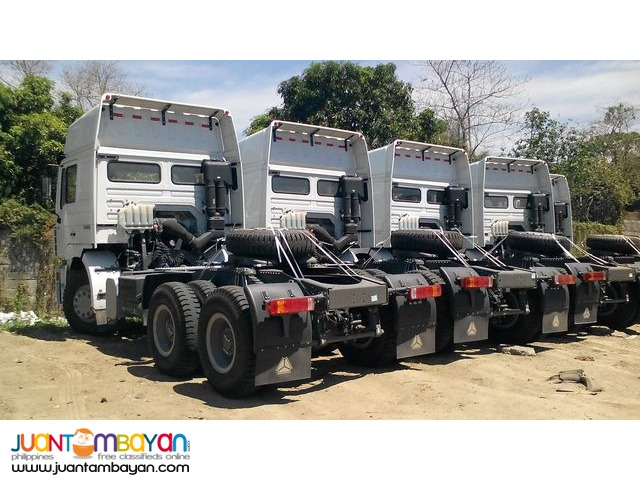 available brand new 10 Wheeler HOWO A7 Tractor Head
