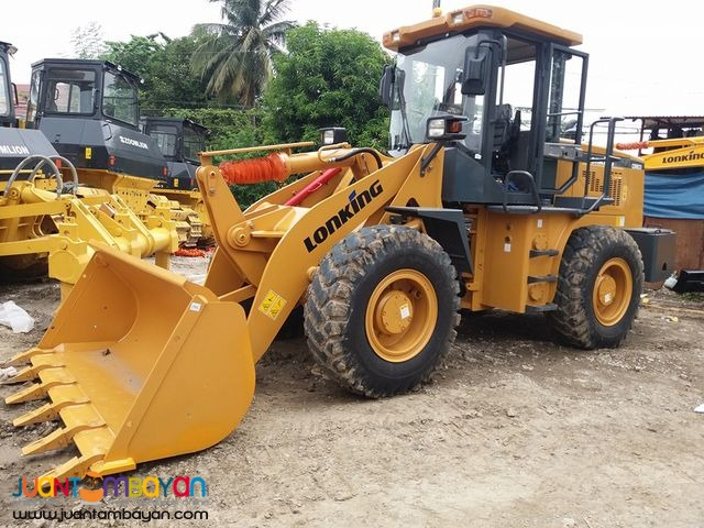 CDM833 Lonking Wheel Loader 1.7m³ Bucket Size