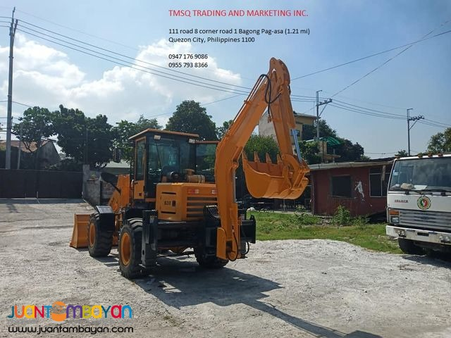HQ25-30 BACKHOE LOADER .30 / 1m³ Capacity (with fan)