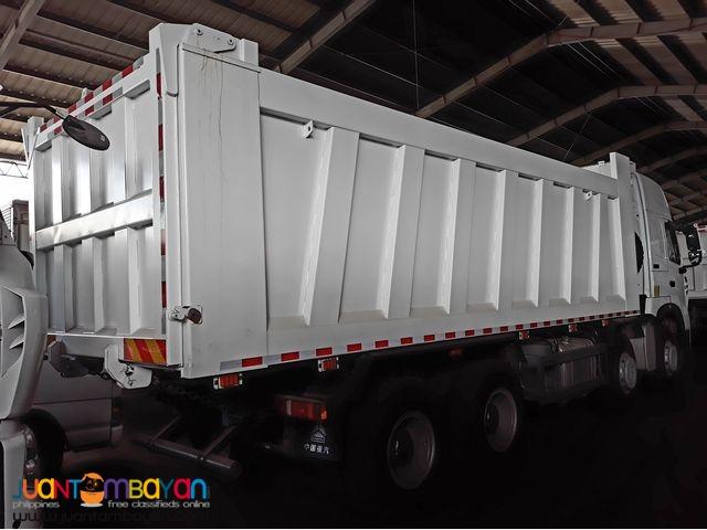 _+_ 12 Wheeler HOWO A7 Dump Truck