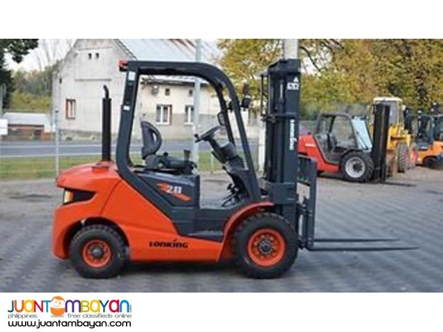 Brand New LONKING LG20DT Forklift (2 Tons)