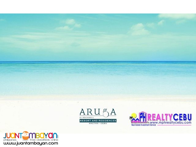 3 BR BEACHFRONT CONDO W/PARKING AT ARUGA BY ROCKWELL CEBU