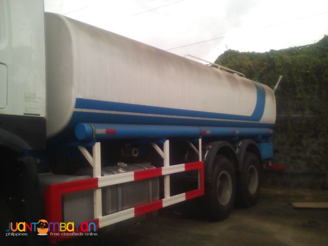 10 wheeler HOWO Water Truck