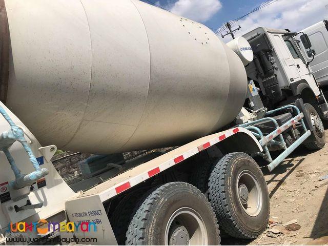 10 Wheeler HOWO A7 Mixer Truck 10m³