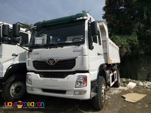 Dump Truck 12 cubic 6 wheeler for sale