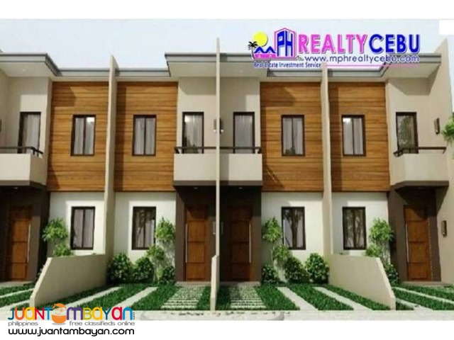 55m² 2BR  Townhouse in Mulberry Drive Cebu City