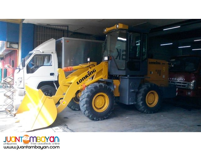 CDM816 Lonking Wheel Loader 1cbm Bucket Size