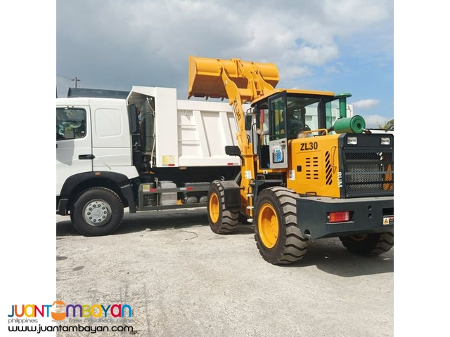RUM ZL30 Wheel Loader 1.7 - 2 m³ with fan