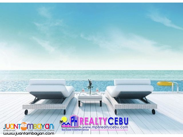 3 BR BEACHFRONT CONDO W/PARKING SLOT ARUGA BY ROCKWELL CEBU