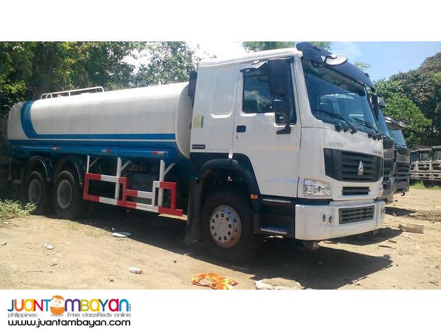 Selling Brand New HOWO Water Truck (20KL)
