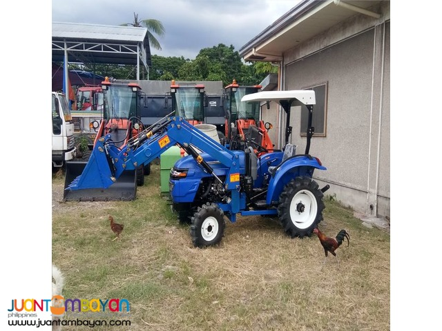 Brand New Farm Tractor With Backhoe And Front Loader
