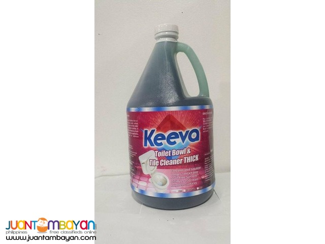 KEEVA Toilet Bowl and Tile Cleaner 3.5 Liters Gallon
