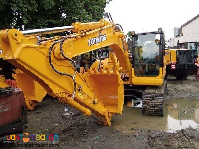 Brand New LONKING CDM 6225 Backhoe Excavator (1.1m³)