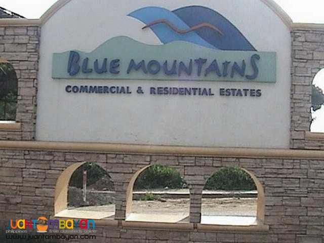Lot for sale in Sumulong Highway Antipolo Blue Mountains