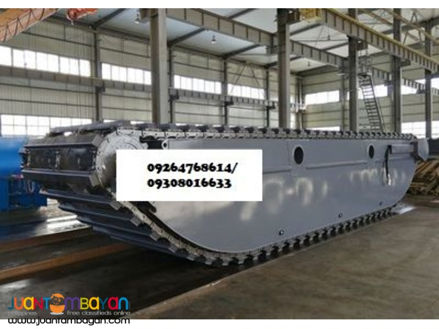 HQ200PU-S amphibious pontoon undercarriage