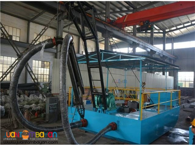 RIVER SAND DREDGING MACHINE NEW 5-20M