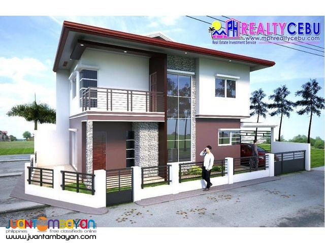 120m² 4BR 3T&B House at Villa Sonrisa in Liloan Cebu