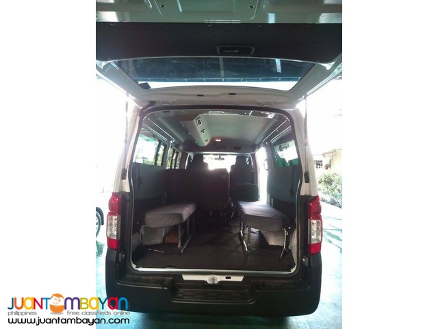 NISSAN URVAN FOR RENT A CAR 18 SEATER