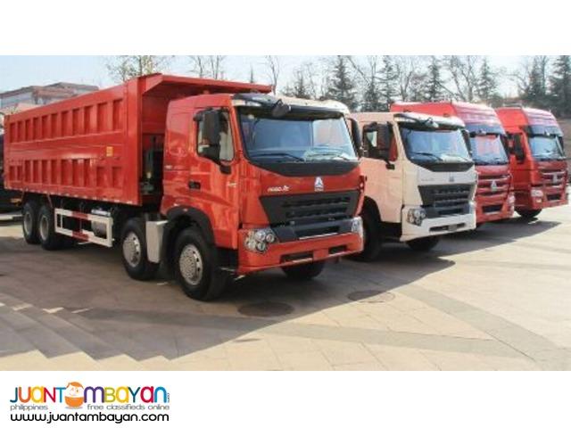 Cnhtc Howo A7 12 Wheeler Dump Truck Brand New!