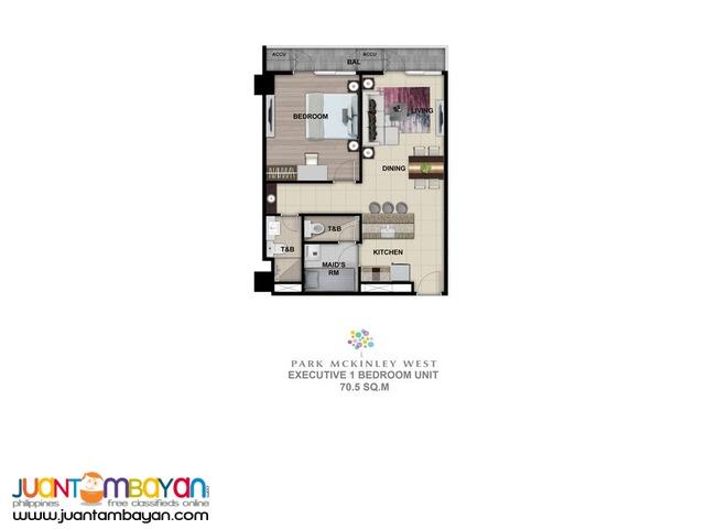 Park McKinley West - Executive 1 Bedroom - 70.5