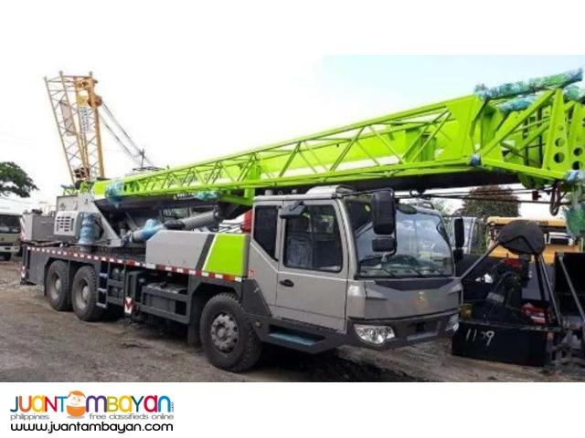 QY25V Zoomlion Mobile Crane 25 tons
