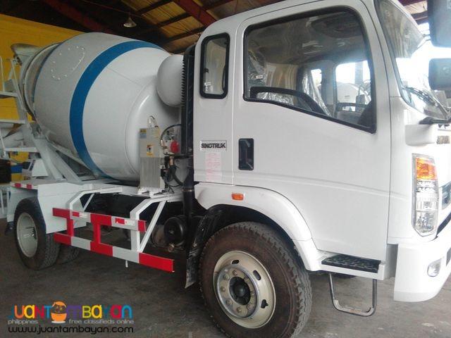FOR SALE 6 Wheeler HOMAN Transit Mixer Truck 4cmb EURO 4