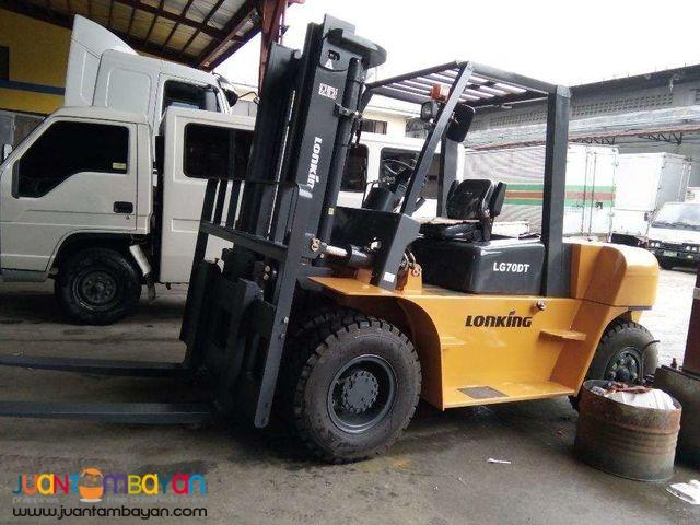 LG70DT Lonking Diesel Forklift 7 tons
