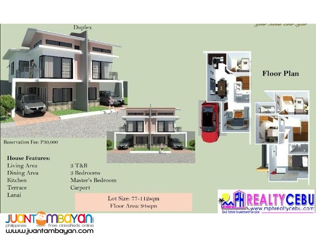 HELENA - 4 BR HOUSE AT CITADEL ESTATE LILOAN, CEBU
