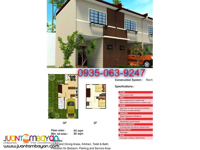 VERY ACCESSIBLE HOUSE AND LOT IN CALUMPIT BULACAN