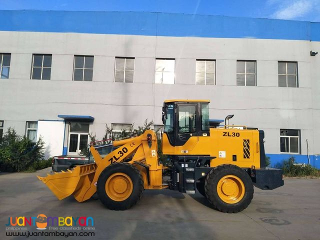 WHEEL LOADER 1.7 CUBIC ZL30 FIXED-SPINDLE POWER SHIFT