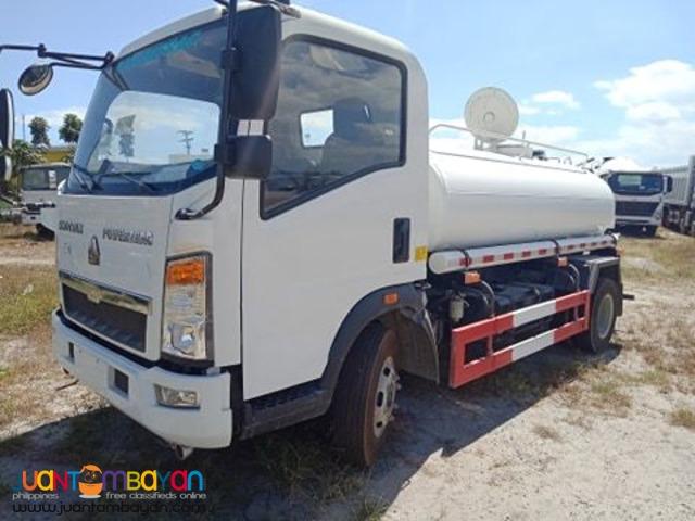 6 wheeler water tanker 4000l euro 4