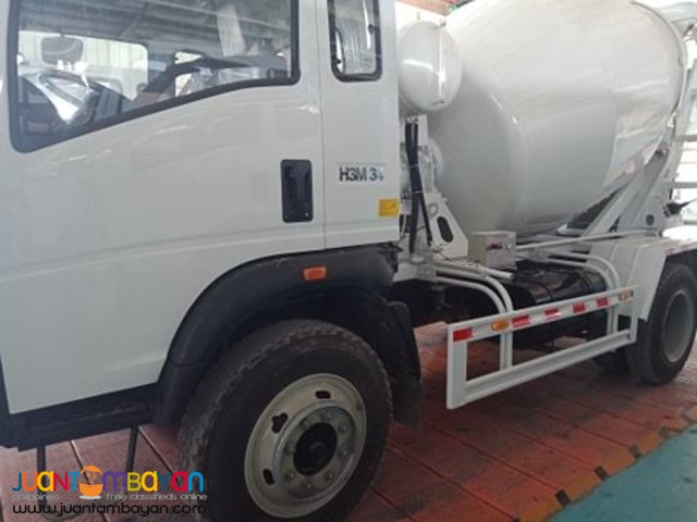 6 wheeler transit mixer 4cbm euro 4 engine