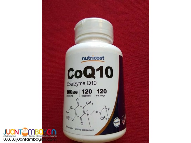 NUTRICOST COQ10 120capsules 100mg 120serving