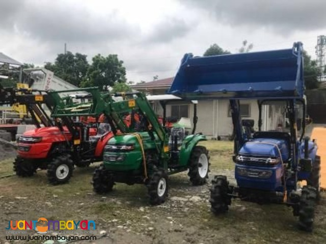 FOR SALE Farm Tractor with Backhoe Loader
