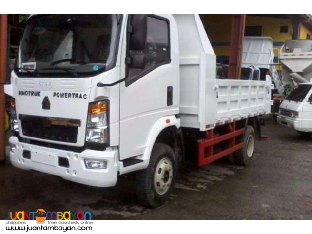 FOR SALE 6 Wheeler HOMAN  Dump Truck 4cbm EURO4